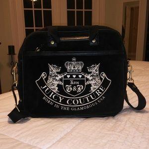 Juicy Couture messanger cross body lap top bag.